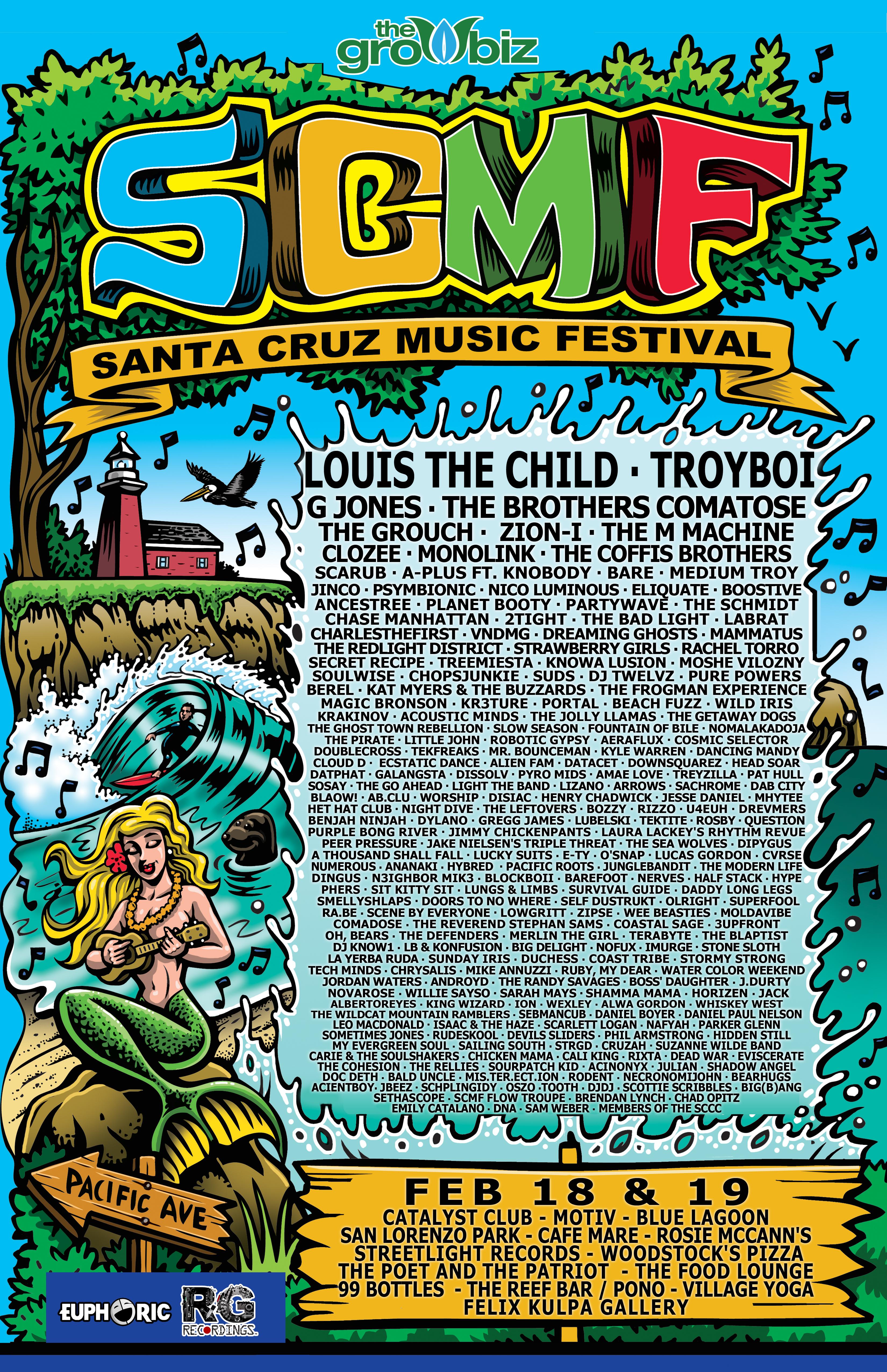 Santa Cruz Music Festival 2015