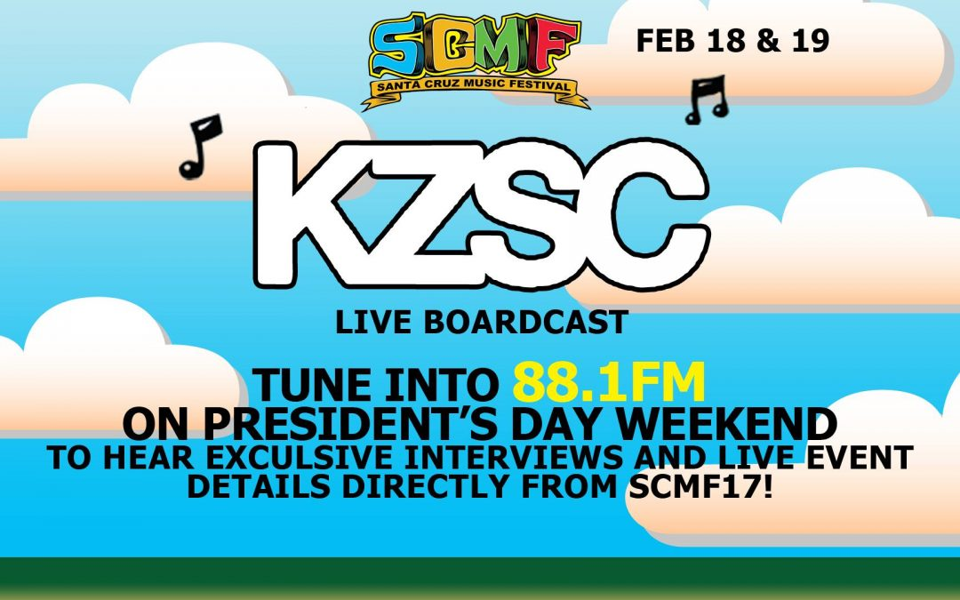 KZSC 88.1 Broadcast at Santa Cruz Music Festival 2017