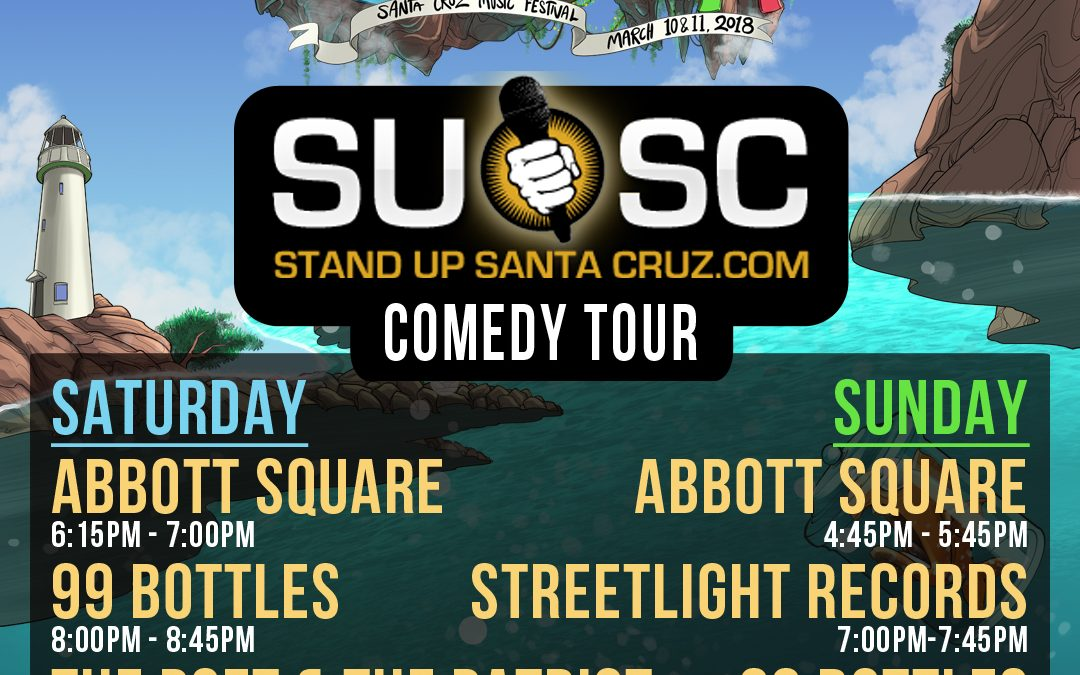 Stand-Up Santa Cruz Comedy Crawl – Santa Cruz Music Festival 2018