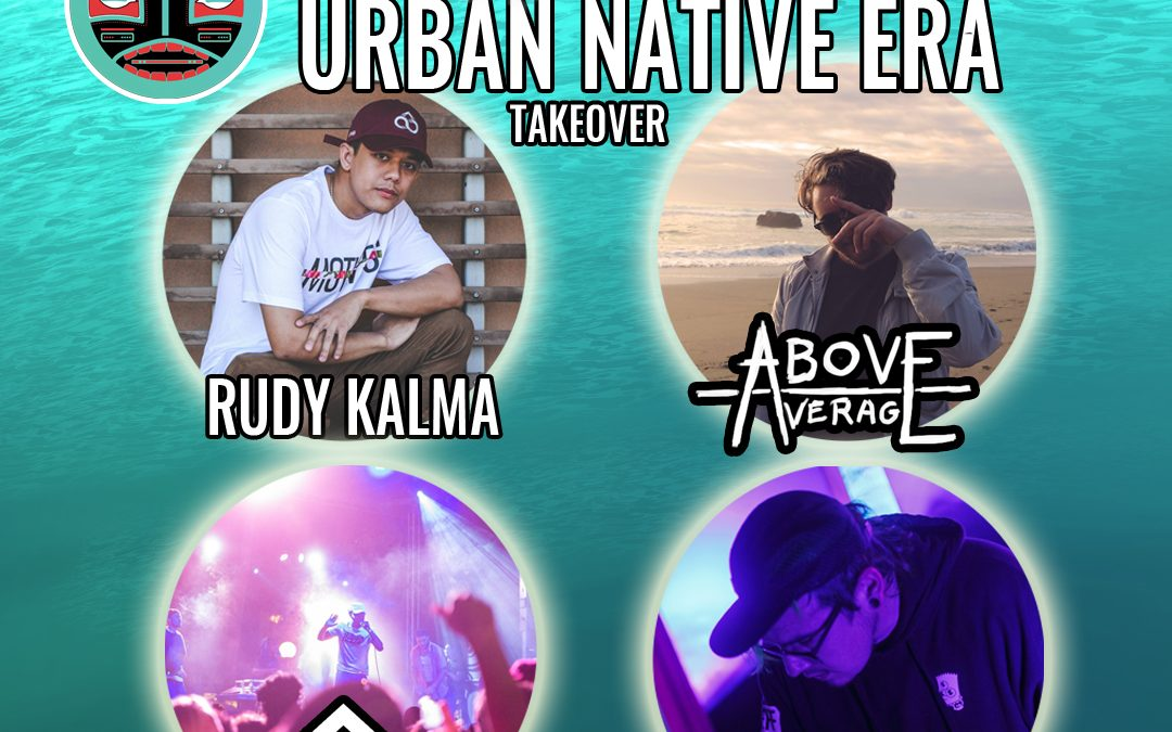 UNE – Urban Native Era Takeover – Santa Cruz Music Festival 2018