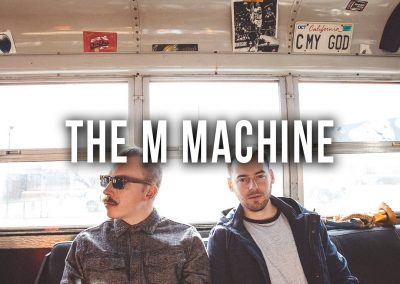 SCMF_Lineup_The M Machine