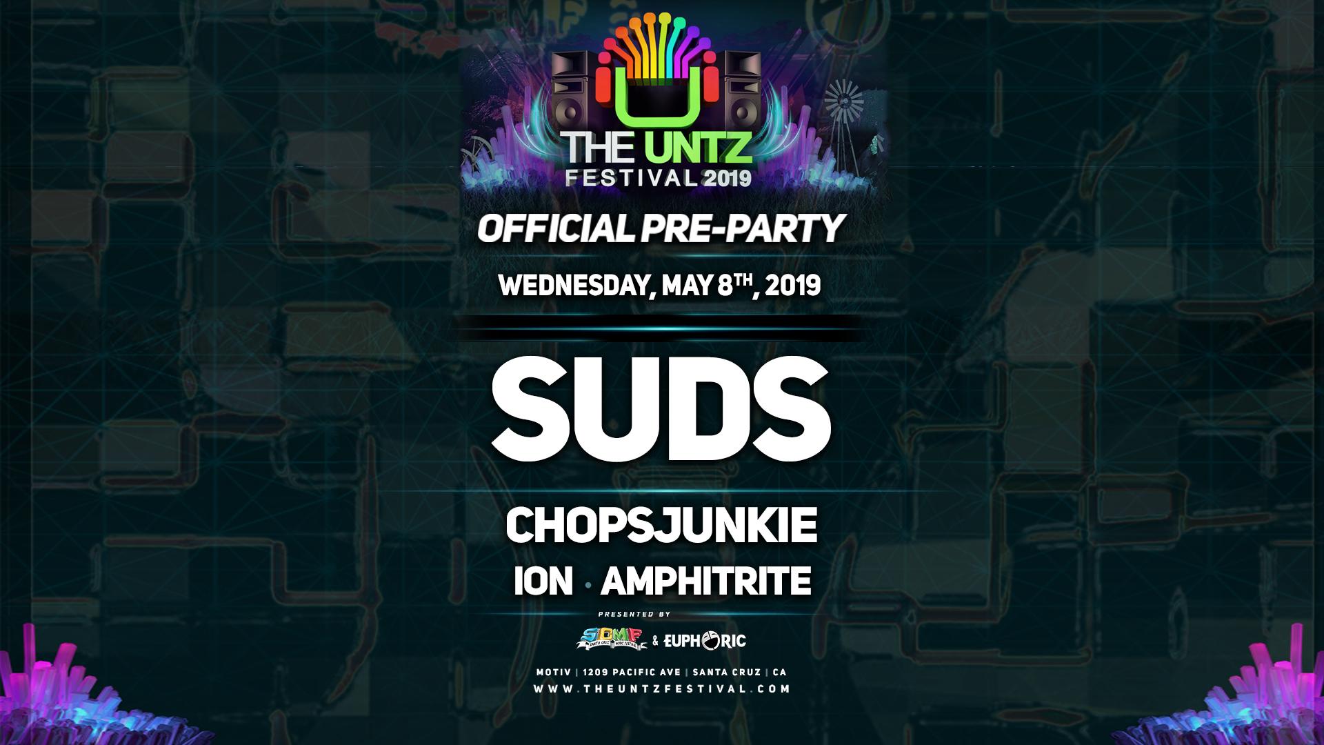 untz-pre-party_5-8-19_Motiv_Suds_banner