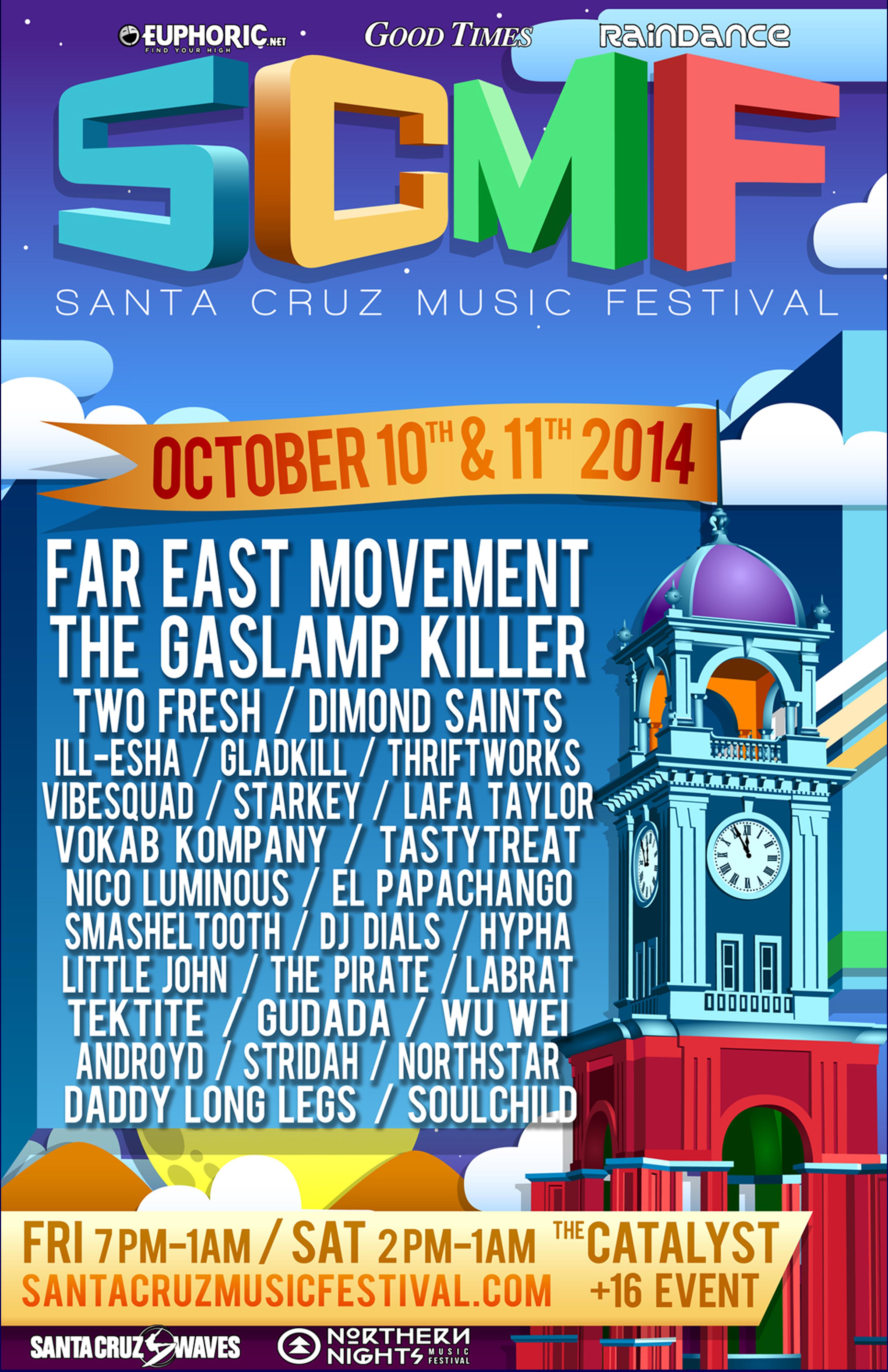 Santa Cruz Music Festival 2014
